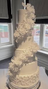 Six Tier All White Wedding Cake Amromabotanical