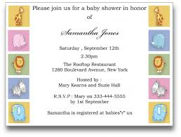 Baby Shower Cards Samples by Baby Shower Templates For Wonderful Parties For Children Baby