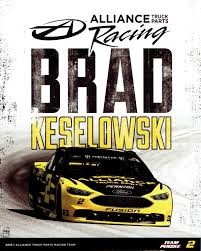 Brad Keselowski Alliance Truck Parts : NASCARHeroCards