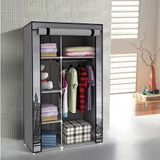 Closet Storage Cloth Rack Best Wardrobe Closet Portable Coat