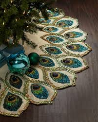 Raz Christmas Trees Wholesale by Handcrafted Christmas Tree Skirt Plastic And Glass Beads On