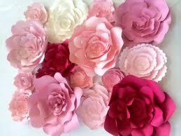 large paper flower wall Roho 4senses