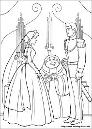 The Prince Married Cinderella Coloring Pages
