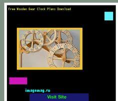 plans of wooden clock 071115 the best image search 10331603