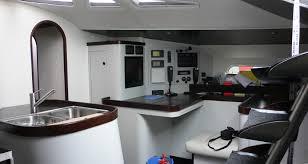 cuisine bateau relooking intérieur bateau rénovation laquage vernissage cabine