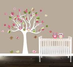 Owl Bedroom Wall Stickers by 28 Best Grey And Pink Nursery Images On Pinterest Baby