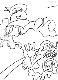 Free Ghostbusters Coloring Pages
