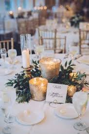 Romantic Philadelphia Country Club Wedding Round Table Decor WeddingSmall CenterpiecesSimple