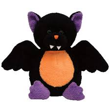 TY Pluffies WINGERS the Halloween Bat Barnes & Noble Exclusive