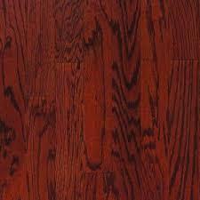 Millstead Flooring Home Depot by Millstead Oak Bordeaux 3 4 In Thick X 3 1 4 In Wide X Random