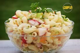 salade de pâtes froides santé
