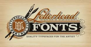 Letterhead Fonts Handcrafted Letters For The Professional Artist