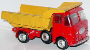 100 Yellow Dump Truck Corgi 458 A ERF Truck Red And