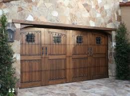 Wood Garage Doors Los Angeles In
