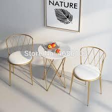 2019 neue südostasien gold haus möbel eisen esszimmer nordic möbel stühle moderne wohnzimmer möbel luxus stühle
