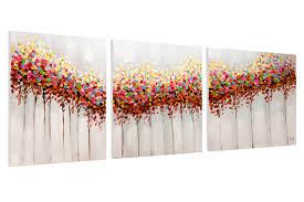 acrylic painting grove 150x60 cm