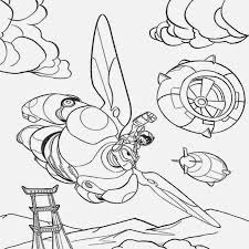 Flight Of The Imagination Baymax Big Hero 6 Coloring Pages Robot Man Increasing Rapidly In