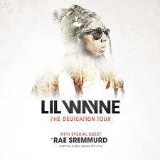 Lil Wayne No Ceilings 2 Youtube by Lil Wayne Announces U0027the Dedication Tour U0027 Dates Featuring Rae Sremmurd