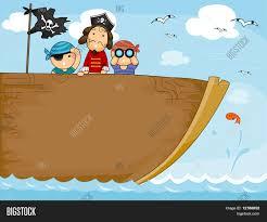 100 Design A Pirate Ship Background Vector Photo Free Trial Bigstock