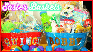 WHATS IN THE BOYS EASTER BASKETS