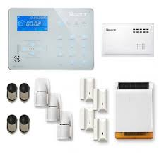 alarme maison sans fil rtc ip et option gsm b longue distance