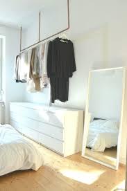 kleiderstange ideen bilder schlafzimmer aufbewahrung