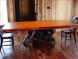 kitchen live edge table leg designs diy faux live edge wood slab