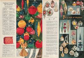 Sears Artificial Christmas Trees by Vintage Christmas Balls A Vintage Catalog Extravaganza