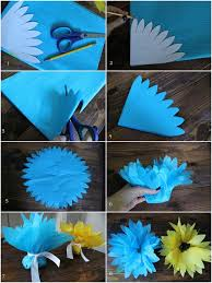 Tissue Paper Flowers Diy7 Check Out The Full Tutorial DIY Creative Flower