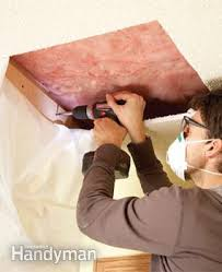 Patch Popcorn Ceiling Video by How To Patch A Textured Ceiling Family Handyman
