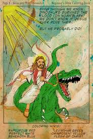 Jesus And The Dinosaurs