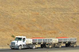 I-5 South Of Patterson, CA - Tomato Haulers For The Morning Star Company