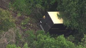 100 Ups Truck Accident UPS Driver Ejected From Truck Found Safe In Concord After Crash In