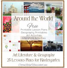 Provides The Teacher With Lesson Plans For A Different Countries Ideas Story Art Projects Geography Activities And Printable Flag Map