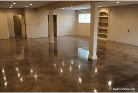 Acid Stain Concrete Flooring