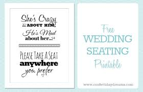 Free Wedding Templates Printable Printables Archives Confetti Daydreams Blog Ideas