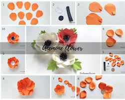 How To Make Anemone Paper Flowers