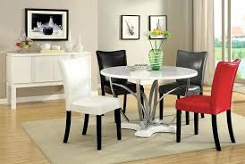 Contemporary Round Dining Room Tables Modern Table For Fine Set Free Durban