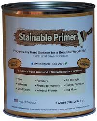 Insl X Cabinet Coat Tint Base by Stainable Primer Spqt Original Primer 1 Quart Amazon Com