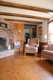 Unfinished Solid Eastern White Pine Flooring
