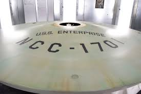 Boeing Enterprise Help Desk by Smithsonian Sets Phasers To Restore On Original Starship