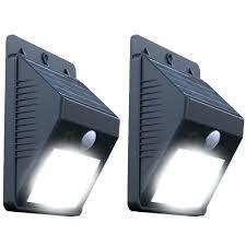 solar powered wall mounted lights mount energy saving