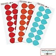 Martha Stewart Home OfficeTM With AveryTM Removable Color Coding Labels 3 Assorted
