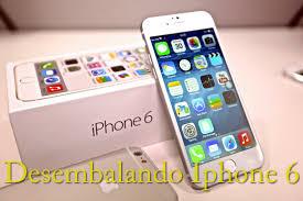 Iphone 6 desembalaje y parativa con Iphone 5