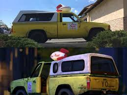 Here's The Story Behind The Real Life Pizza Planet Truck: It's A ... Dan The Pixar Fan Toy Story 2 Lego Pizza Planet Truck Slinky Dog Character From Pixarplanetfr Amazoncom Lego 3 Rescue Toys Games Reallife Replica From Makes Trek To Of Terror Easter Eggs The Good Toy Story Accidentally Inspired Disney Have Been Hiding A Secret Right Infront Us All This Time Les Apparitions Du Camion Dans Les Productions In Co 402 Truck Drives By Funko Pop Rides Fall Cvention Exclusive Nycc Photos Fanmade Looks Like It Drove Right Out Mattel Minis Figures With Vehicles