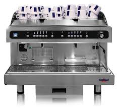 Distinguished By Its Swiss And Italian Styling Design The Crono 2 Coffee Machine Has A Built In Fully Automatic Professional Cappuccinatore Allowing