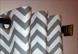 bathroom wonderful chevron curtains canada black and white