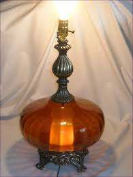 Cheap Torchiere Lamp Shade Replacement by Fumat Glass Table Lamp Vintage Metal Table Lamp Creative Fashion