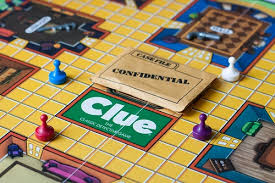 She Brought A Stack Of Old Board Games Heres Version Clue The Classic Detective Game From Parker Brothers Early 1980s