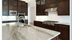Dark Cabinets White Countertop Comfy Kitchen Idea 3 Floors Counter
